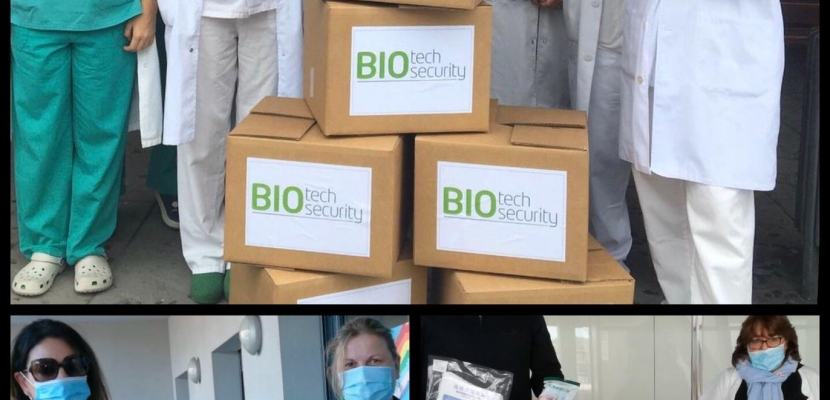 BIOTECH BIOSECURITY THANKS THE SANITARY COLLECTIVE FOR THEIR FIGHT AGAINST SARS-COV-2